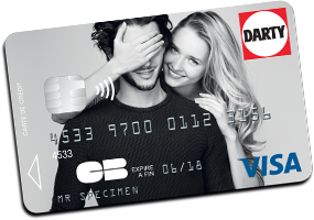 carte darty VISA menafinance