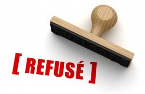 décision crédit refusé