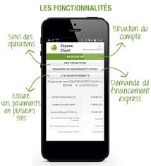 application Banque casino mobile