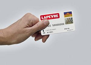 Projeo : carte Aurore Lapeyre et crédit KparK