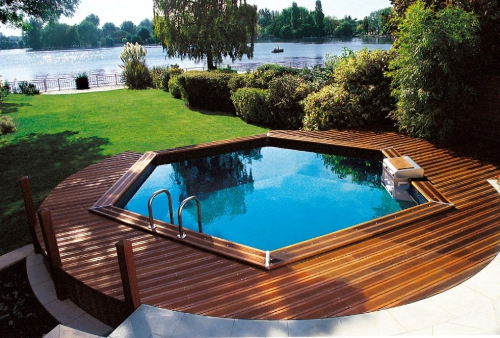 Piscine jacuzzi quel cr dit choisir for Piscine hors sol composite gris