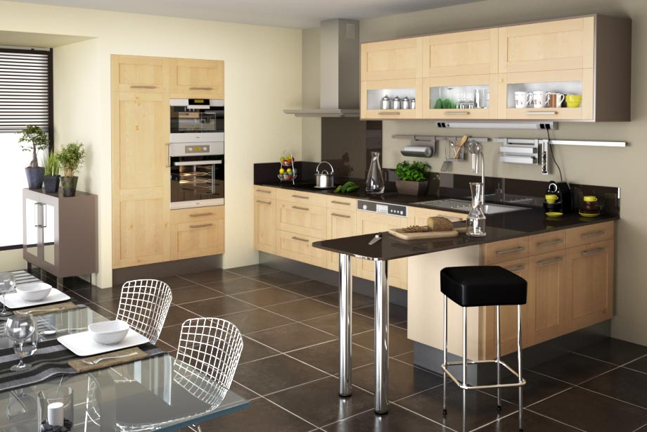 Offre sp ciale cuisines chez lapeyre jusqu 39 au 21 juin - Plan de travail cuisine lapeyre ...