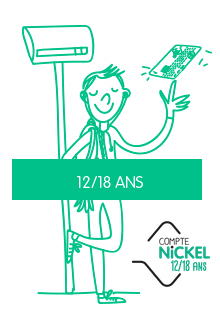 Compte Nickel 12-18 ans