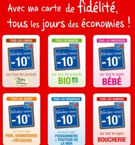 -10% carte carrefour