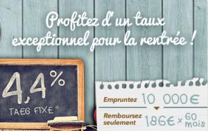 """Offre """"Back to school"""" par Banque Casino rentrée"""
