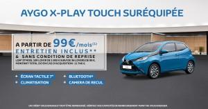 voiture a 99 euros par mois