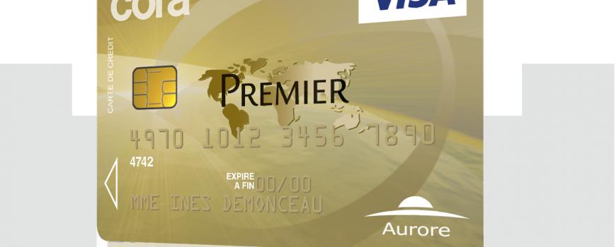 carte cora visa premier