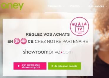 oney showroomprive