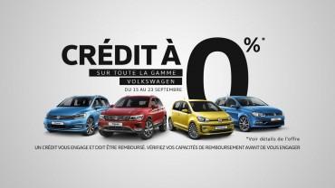 credit volkswagen 0 2017