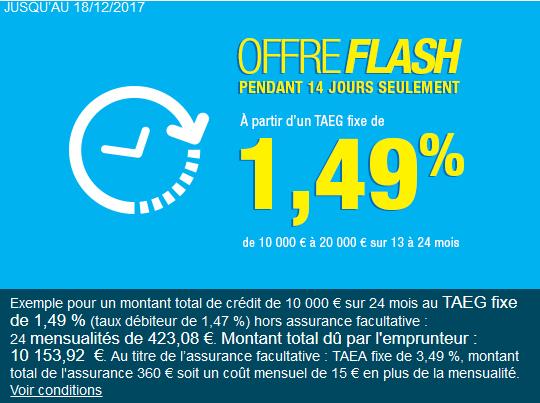 noel 2017 Carrefour Banque