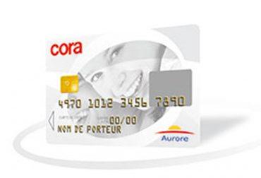 carte credit cora