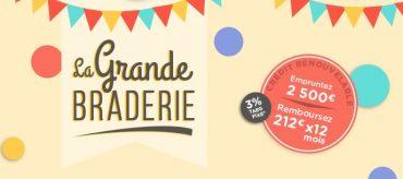 Offre Grande Braderie Banque Casino