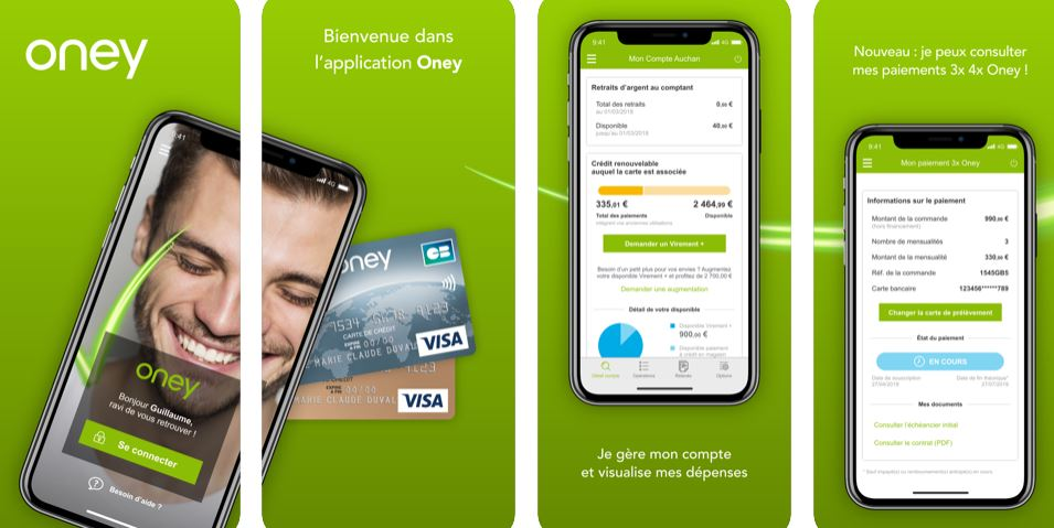 application mobile Oney